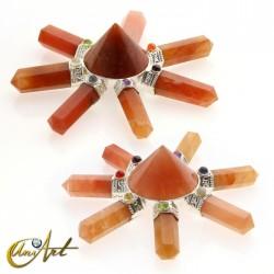 Orange aventurine Chi Generator (Reiki)