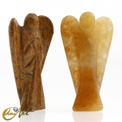 Golden Quartz or Coquina Jasper Angel of the Wisdom, represents the Archangel Jophiel