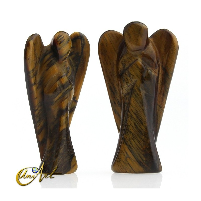 Tiger Eye Angel of the Illumination, represents the Archangel Jophiel