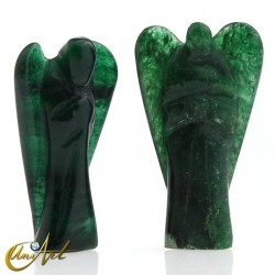 Health Angel of Green Aventurine, represents the Archangel Rafael