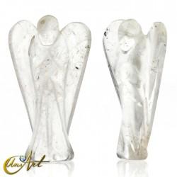 Ángel Mensajero de Cristal de Roca, representa al Arcángel Gabriel