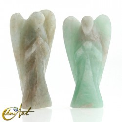 Carved Amazonite Angel