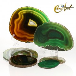 Agate sheets by kilo