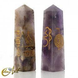 Reiki conductive in quartz - Amethyst