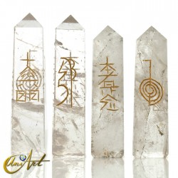 Reiki conductive in quartz - Crystal Quartz