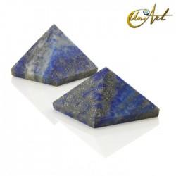 Pyramid 2.5 cm - natural stone - Lapis lazuli