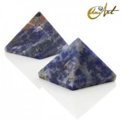 Pyramid 2.5 cm - natural stone - Sodalite