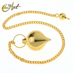 Mermet pendulum - brass color