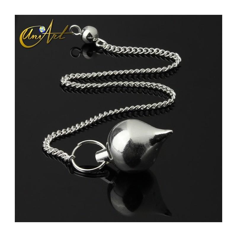 Mermet pendulum - silver color