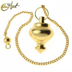 Oriental Style Pendulum - Brass