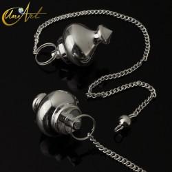 Oriental Style Pendulum - Silver