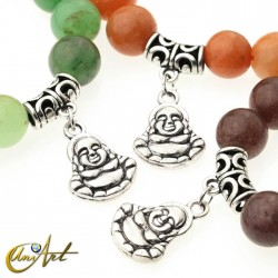 Aventurine bracelet - happy buddha