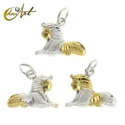 Sphinx in silver - pendant
