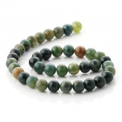 10 mm Round beads of indian agate