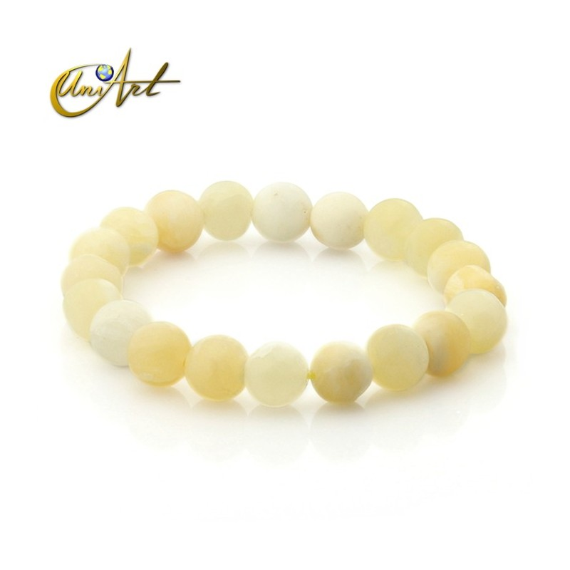 Yellow calcite bracelet