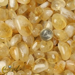 Citrine  tumbled stones in packet of 200 grs