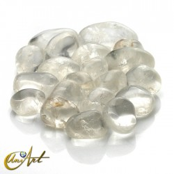 crystal tumbled stones in packet of 200 grs