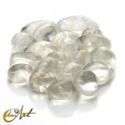 Cuarzo cristal - bolsa de cantos rodados 200 gramos