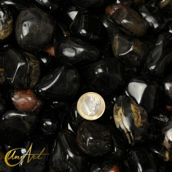 onyx tumbled stones in packet of 200 grs