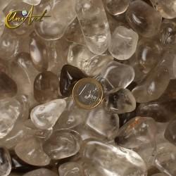 Cuarzo Ahumado - bolsa de cantos rodados 200 gramos