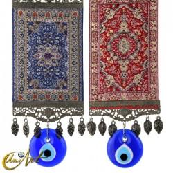 Big Evil Eye Amulet with carpet