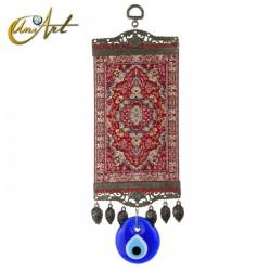 Big Evil Eye Amulet with carpet - model 1
