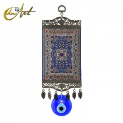 Big Evil Eye Amulet with carpet - model 2