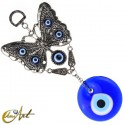 Butterfly with Turkish evil eye
