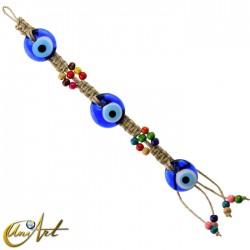 Sarta de ojos turcos - modelo 1