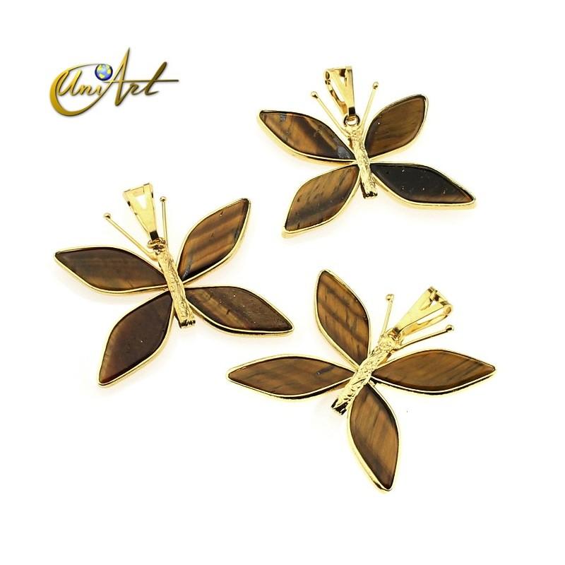 Butterfly handmade pendant