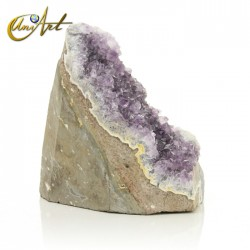 Amethyst Druse with countless crystals