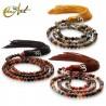 Agate tibetan Buddhist Mala 6 mm Beads