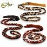 8 mm agate beads tibetan Buddhist Mala