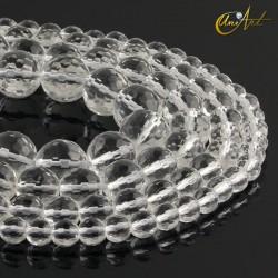 Crystal quartz - faceted