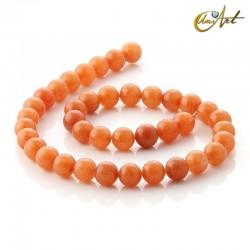 Aventurina naranja - tiras de cuentas 10 mm
