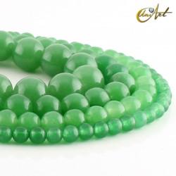 Green aventurine balls