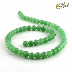Aventurina verde - bolas 6 mm