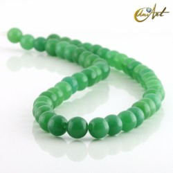 Aventurina verde - bolas 8 mm