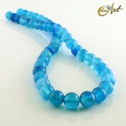 Ágata Azul - bolas 8 mm