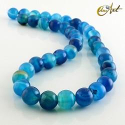 Ágata Azul - bolas 10 mm