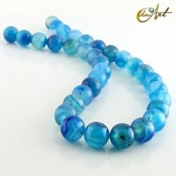 Ágata Azul - bolas 12 mm