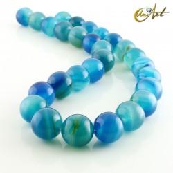 Ágata Azul - bolas 14 mm