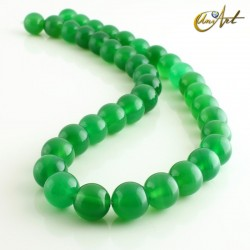 Ágata Verde - bolas 10 mm