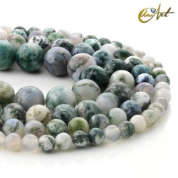 Strips of tree agate