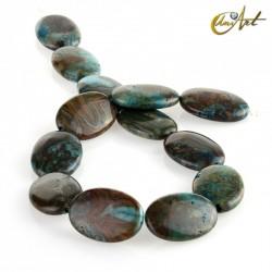 Ágata crazy azul – talla oval