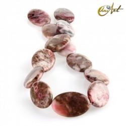 Ágata crazy rosa – talla oval