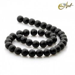 Ónix negro - cuentas de 10 mm