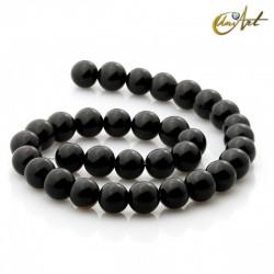 Ónix negro - cuentas de 12 mm