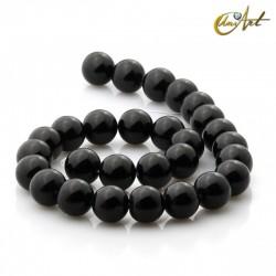 Ónix negro - cuentas de 14 mm