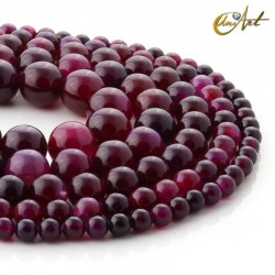 Cherry Agate Beads